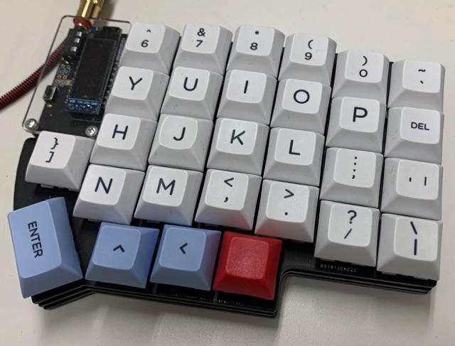 Lily58 Pro 右側